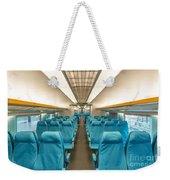 Maglev Train In Shanghai China Weekender Tote Bag