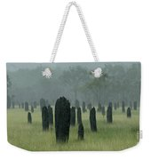 Magnetic Termite Mounds Weekender Tote Bag by Bob Christopher