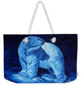 Polar Bear Art Blue Prince Lord Of The North Weekender Tote Bag