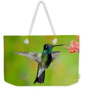 Magnificent Hummingbird Weekender Tote Bag