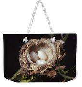 Magnificent Hummingbird Eggs Weekender Tote Bag