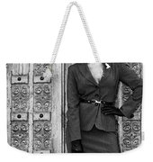 Magnificent Obsession Bw Palm Springs Weekender Tote Bag by William Dey