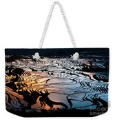 Magnificent Rice Terrace Weekender Tote Bag