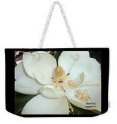 Magnolia Love Weekender Tote Bag