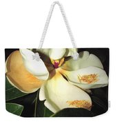 Magnolia Blossom In All Its Glory - Keep Love In Your Heart Weekender Tote Bag