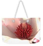 Magnolia Blossom - Square Format Weekender Tote Bag