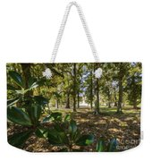 Magnolia Leaves Weekender Tote Bag