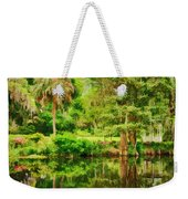 Magnolia Plantation Gardens Weekender Tote Bag