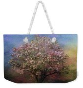 Magnolia Tree In Bloom Weekender Tote Bag