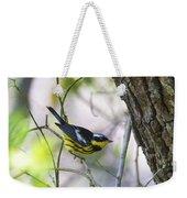 Magnolia Warbler Weekender Tote Bag