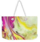 Magnolia Watercolor Abstraction Painting Weekender Tote Bag