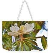 Magnolia White Weekender Tote Bag