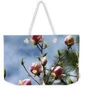 Magnolias In Bud Weekender Tote Bag