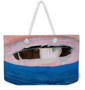 Magpie Original Painting Weekender Tote Bag