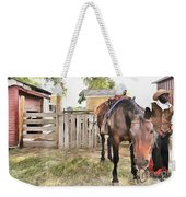 Mahaffie Stagecoach Stop And Farm Weekender Tote Bag