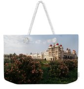 Maharaja's Palace And Garden India Mysore Weekender Tote Bag