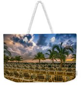 Mahogany Bay Beach-roatan-honduras Weekender Tote Bag