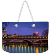 Maidstone Bridge Weekender Tote Bag