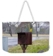 Mail Box Weekender Tote Bag