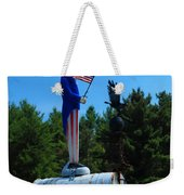 Mail For Uncle Sam Weekender Tote Bag