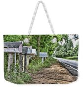 Mail Route Weekender Tote Bag