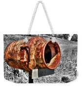 Mailbox With Character Weekender Tote Bag