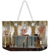 Main Altar Saint Jospehs Cathedral Buffalo New York Weekender Tote Bag