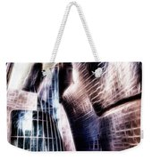 Main Entrance Of Guggenheim Bilbao Museum In The Basque Country Fractal Weekender Tote Bag