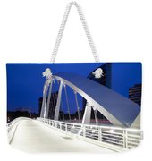 Main Street Bridge Weekender Tote Bag