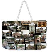 Main Street Disneyland Collage 02 Weekender Tote Bag