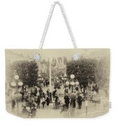 Main Street Disneyland Heirloom Weekender Tote Bag