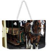 Main Street Horse And Trolley Weekender Tote Bag