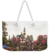 Main Street Sleeping Beauty Castle Disneyland 02 Weekender Tote Bag
