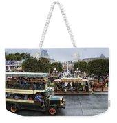 Main Street Transportation Disneyland Weekender Tote Bag