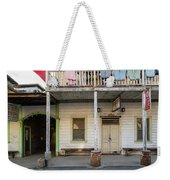 Main Street With Shops And Museum Weekender Tote Bag