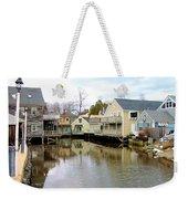 Maine Backwater Weekender Tote Bag