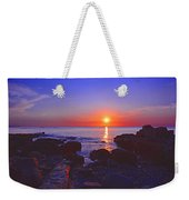 Maine Coast Sunrise Weekender Tote Bag