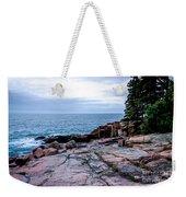 Maine Coastline Weekender Tote Bag