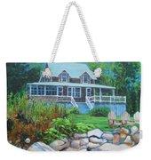 Maine Cottage Weekender Tote Bag