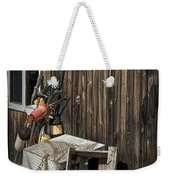 Maine Fishing Buoys And Nets Weekender Tote Bag