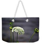 Maine Flora Weekender Tote Bag