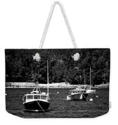 Maine Lobster Boats Weekender Tote Bag