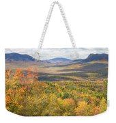 Maine Mountains In Fall Mount Blue State Park  Weekender Tote Bag