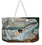 Maine Rock Painting Weekender Tote Bag