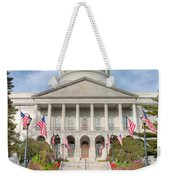 Maine State House V Weekender Tote Bag