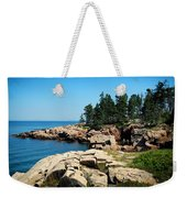 Maine's Rocky Coastline Weekender Tote Bag