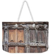 Maison De Bois Macon - Detail Wood Front Weekender Tote Bag