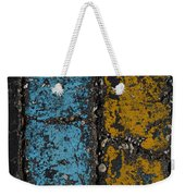 Maize And Blue 2 Weekender Tote Bag