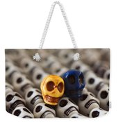 Maize And Blue Weekender Tote Bag