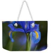 Majestic Blue Iris Weekender Tote Bag